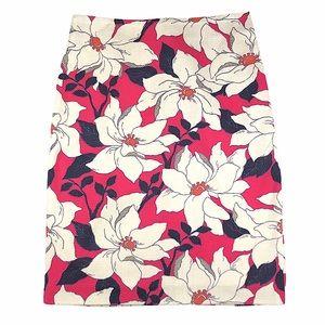 NWOT Ann Taylor Floral Pencil Skirt
